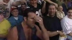 NWO invade WCW - Scott Hall Kevin Nash walks through the crowd