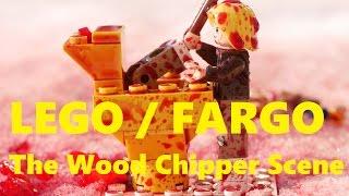 LEGO FARGO - The Wood Chipper Scene