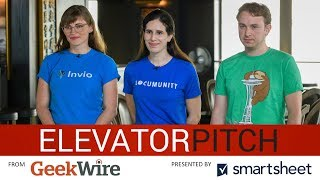 GeekWire's Elevator Pitch Ep. 5: Invio, BloomAPI, Locumunity