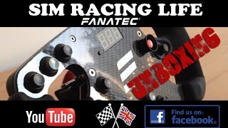 Fanatec CSW Formula One CF Wheel Rim Unboxing & First Look