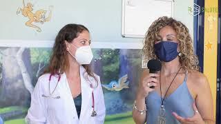 La Dr.ssa Simona Fecarotta del reparto di pediatria generale dell'AOU Federico II di Napoli