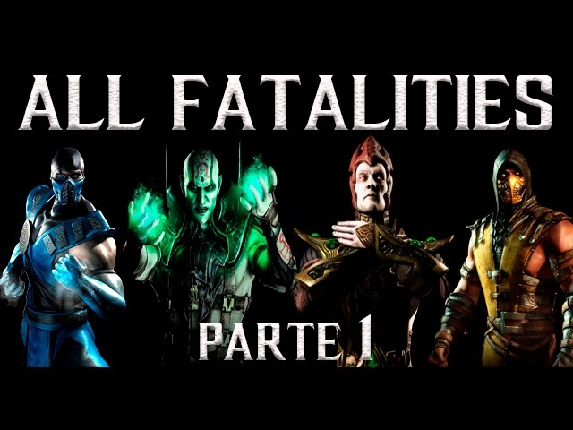 Todos Fatalities 1080p 60fps pt1