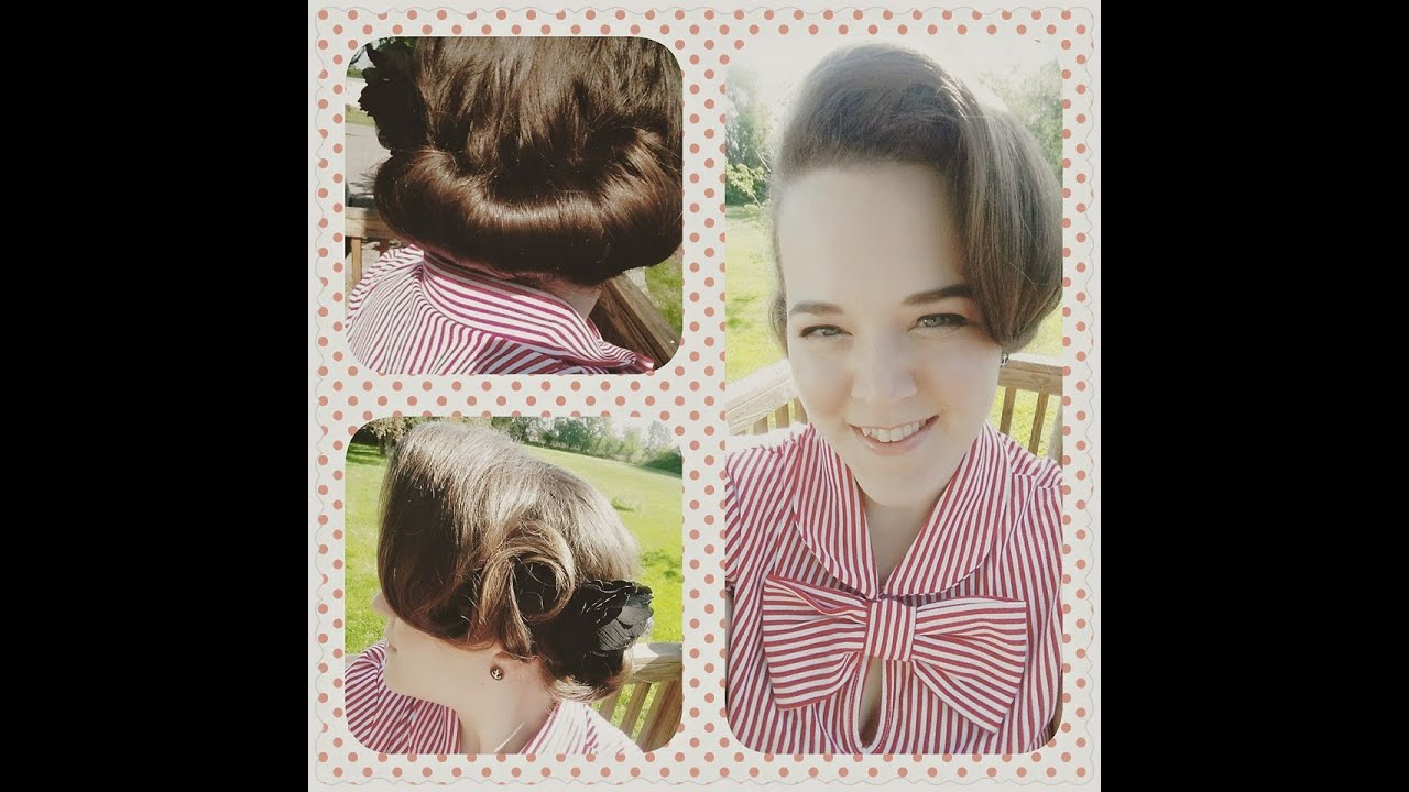 Gibson rollnotebook inspired hairstyle vintage hair tutorial gibson rollnotebook inspired hairstyle vintage hair tutorial baditri Gallery
