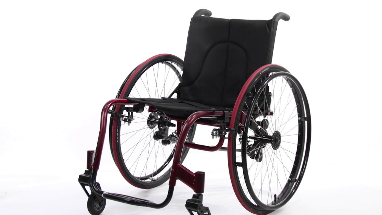 Wollex W734 Aktif Tekerlekli Sandalye Youtube