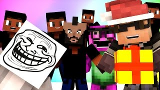Minecraft Mini-Game : DO NOT LAUGH! (ROSS IS CUPID?) w/ Facecam