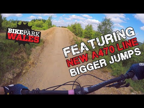 Vicious Valley, A470 Line (2018 rebuild), Willy Waver Full Run | Bike Park Wales RAW