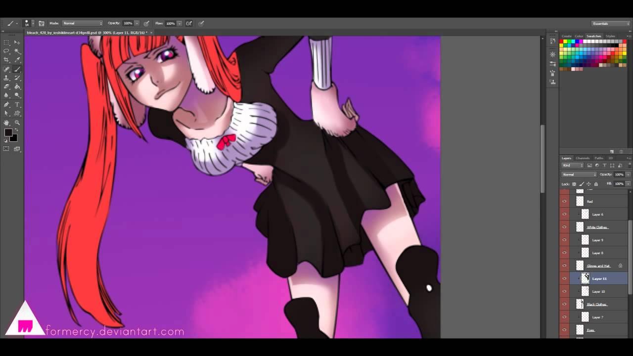 Riruka   Manga Coloring - YouTube