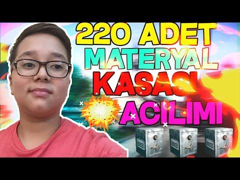 220 ADET MATERYAL KASASI AÇTIK !! 30 TL İLE 200 TL LİK MATERYAL !! - ZULA