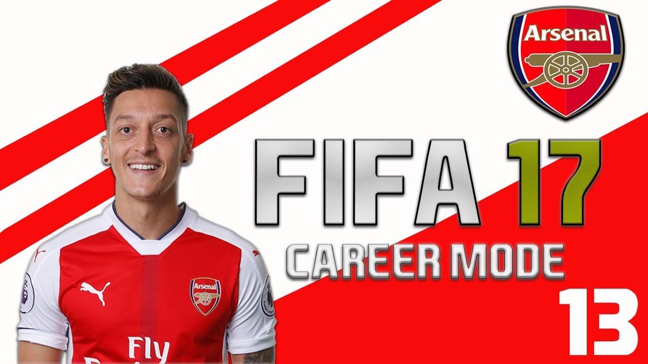 FIFA 17 Arsenal Career Mode Part 13 - NOT THIS SH*T AGAIN ...