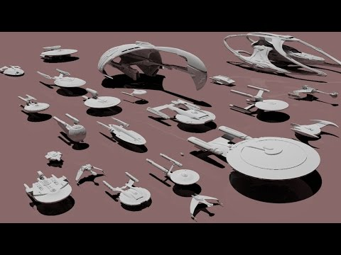Thumbnail: Starships size comparison (Star Trek)