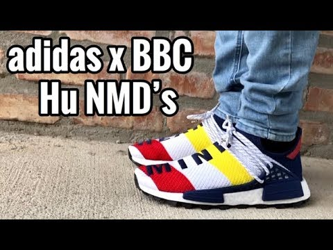new concept 6b19f b095a adidas x BBC Human Race NMD On Feet
