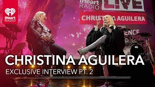 "Christina Aguilera Talks New Set List For ""The Xperience"" Residency 