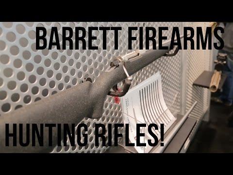 Lightweight Hunting Rifles With Chris Barrett | SHOT 2017
