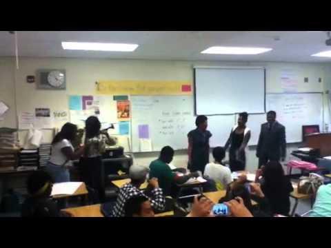 Oakland high school gone ratchet