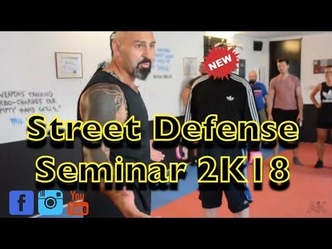 Selbstverteidigung Seminar Street Defense Ahmet Kaydul Fight Mentality