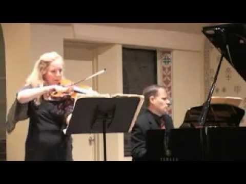 Stephanie Chase plays Ravel's Sonata -  Perpetuum mobile: Allegro