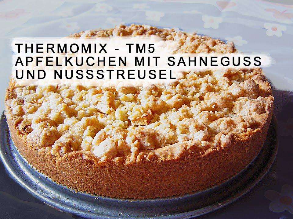 Thermomix Apfelkuchen Ohne Zucker Youtube