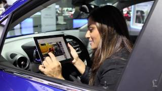 L.A. Auto Show 2014: Wi-fi access demonstration in Chevrolet Trax