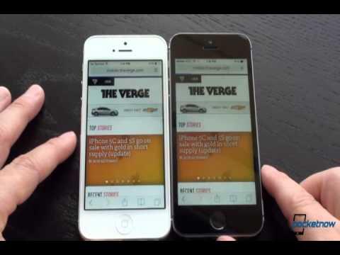 Iphone 5s vs Iphone 5 Сравнение