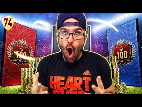 MY 10th IN THE WORLD REWARDS!! FIFA 18 Ultimate Team Road To Fut Champions #74 RTG