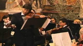 """Guido Rimonda:Variazioni su""""Fratelli d'Italia""""per violino e orchestra"""