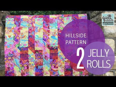 Easy Beginner Quilting Tutorial with a Jelly Roll - YouTube