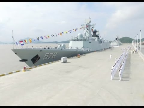 New Missile Frigate Joins Chinese Navy
