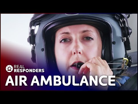Flying Doctor Fights To Save Bikers Life | Emergency Down Under | Real Responders