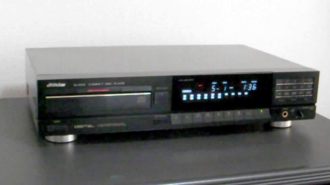 Victor・ビクター XL-V501 CDプレーヤー