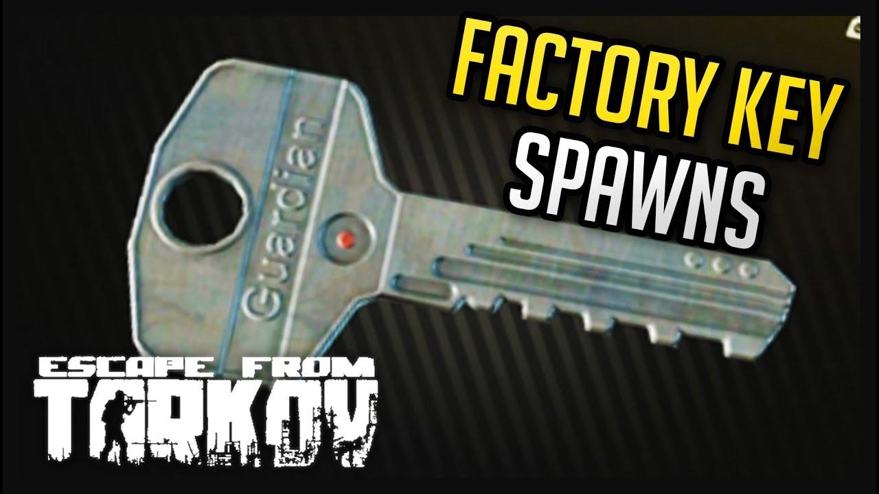 Factory Key Spawns Escape from Tarkov YouTube