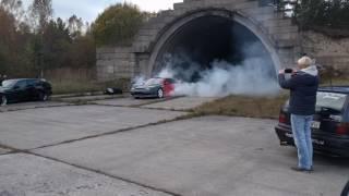 Nissan S13 200SX Burnout HUGE CLOUDS!