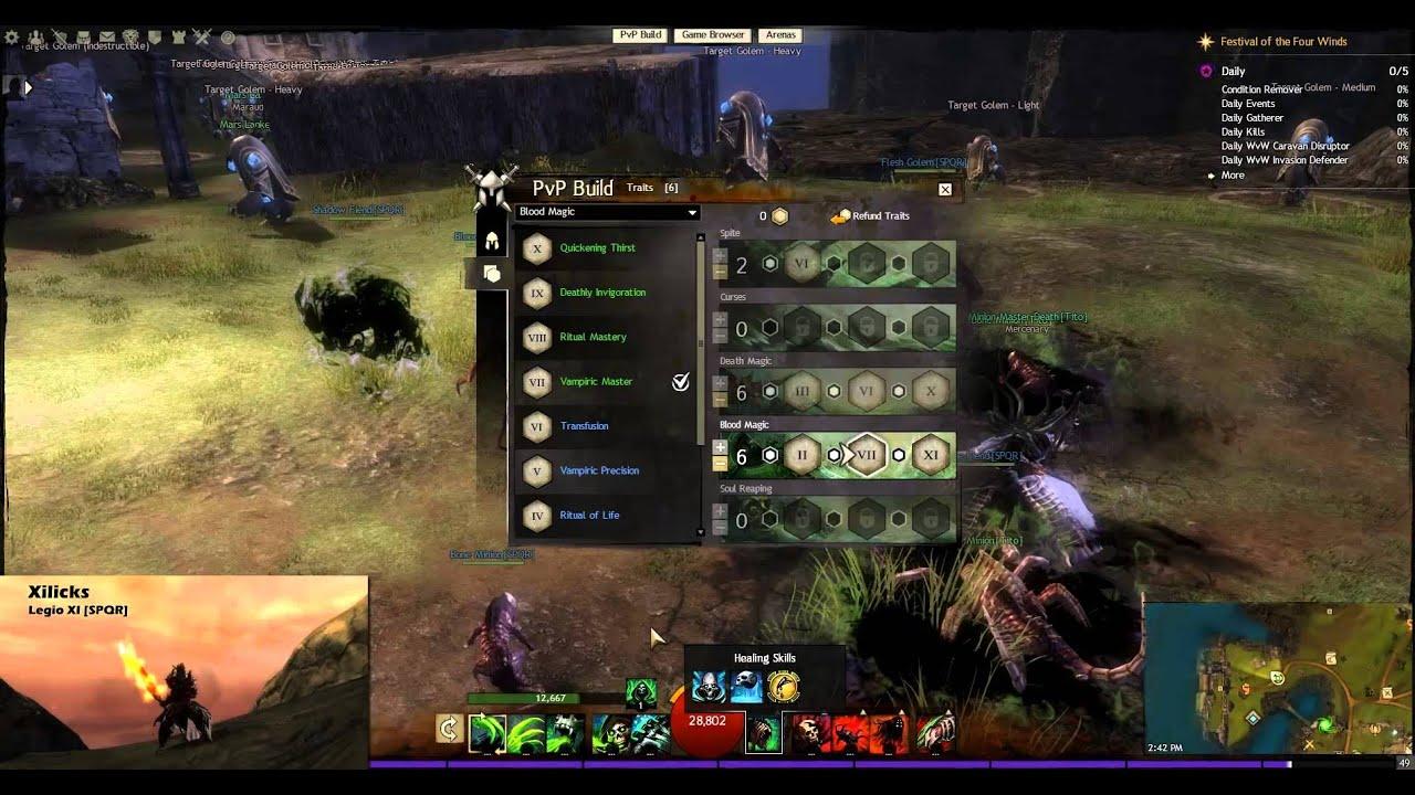 Necromancer Build Guild Wars  Minion Master