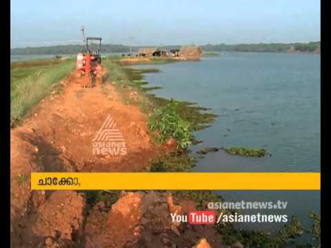 Salty water entered in farms; farmers from Changaramkulam are in trouble
