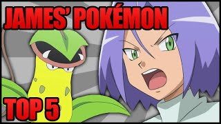 One of Ace Trainer Liam's most viewed videos: Top 5 Pokémon Owned by James (Team Rocket) in the Anime (Ace Trainer Liam)