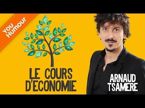Arnaud TSAMERE - Le cours d'économie