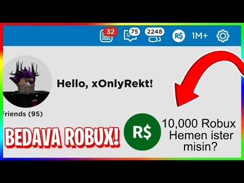 ROBLOX EN İYİ BEDAVA ROBUX KAZANMA TAKTİĞİ !! (EFSANE)
