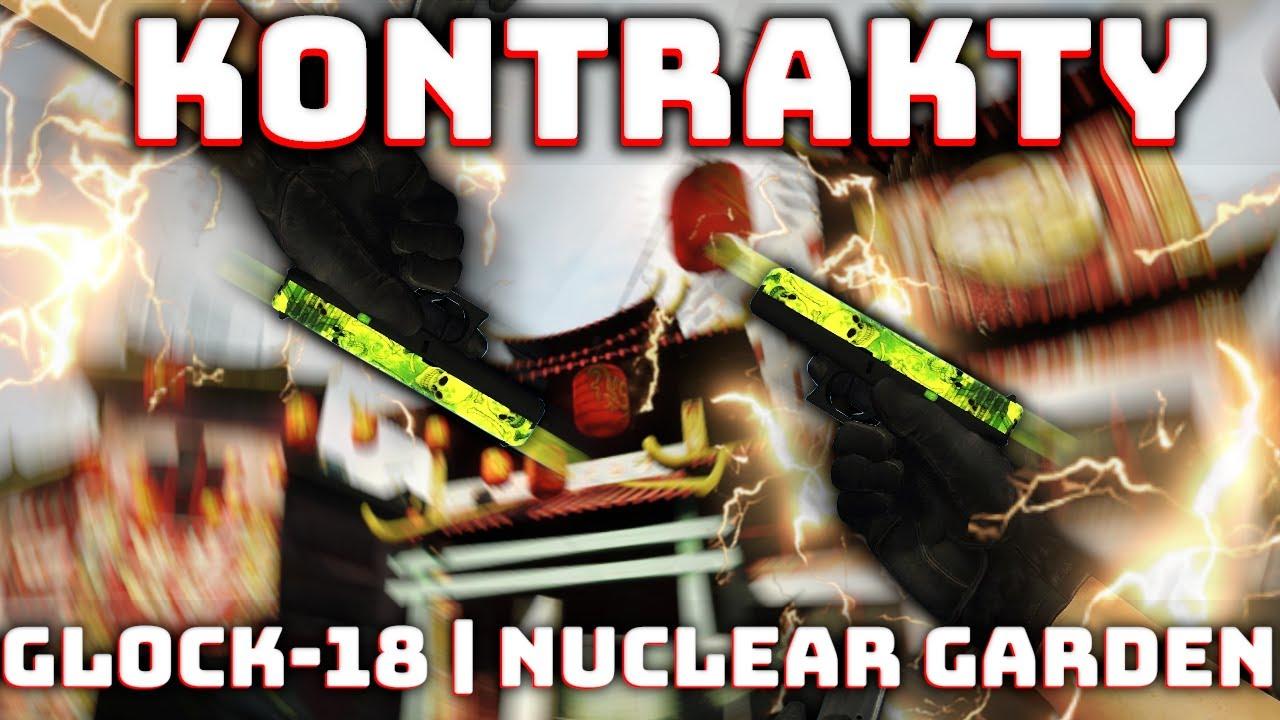 Najlepszy czy Najgorszy kontrakt w CSGO | Glock-18 | Nuclear Garden | Rozdaje skiny | Skin Giveaway