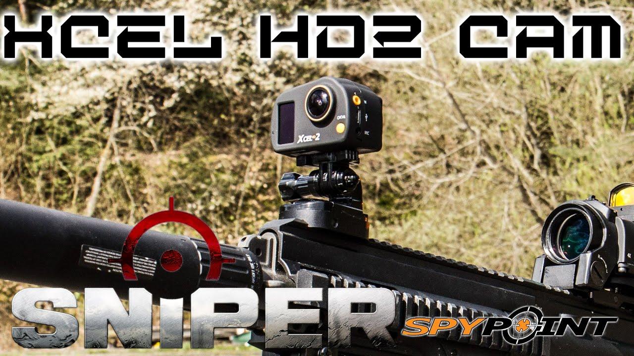 spypoint xcel hd2 action cam test sniper youtube. Black Bedroom Furniture Sets. Home Design Ideas