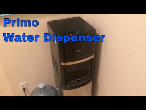 Primo Bottom Load Water Dispenser, Stainless Steel/Black Overview/Review 900130