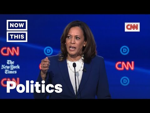 Kamala Harris Slams Democrats for Lack of Discussion on Reproductive Health Care | NowThis thumbnail