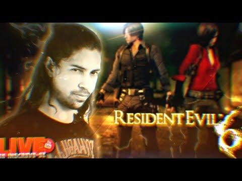 Resident Evil 6 GAMEPLAY AO VIVO, Pode chegar!!!
