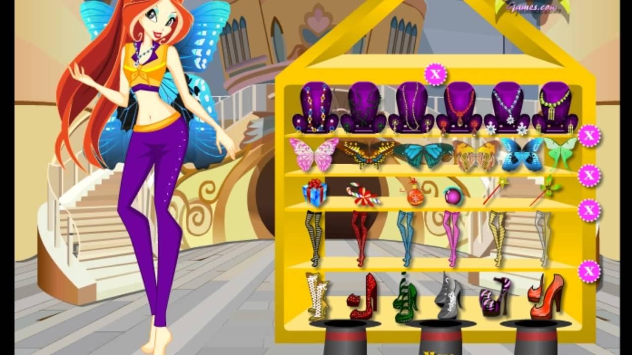 [ Review ] Game thời trang : Thời trang công chúa phép thuật Winx – Winx DressUp