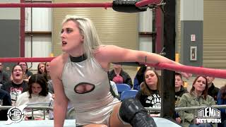 Heather Monroe vs Gino Medina (Intergender Wrestling) iPPV Version - Hurricane Pro