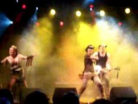 Rednex - Cotton Eye Joe - Live in Uddevalla 28 july 2006
