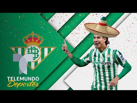 ¡Viva México cabr...! Así recibió Betis a Diego Lainez | Telemundo Deportes