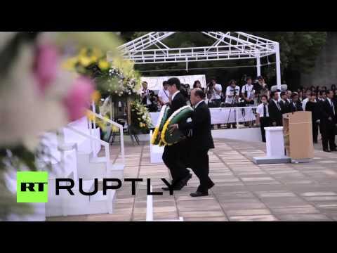 Japan: Nagasaki mourns atomic bomb victims