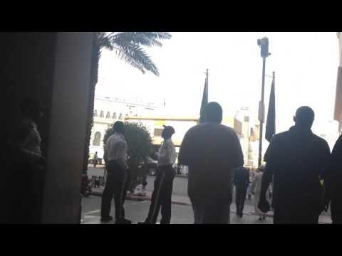 Walking from Makkah Hilton to Masjid al-Haram