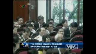 Thủ tướng Nguyễn Tấn Dũng xin lỗi vì những yếu kém của Chính phủ