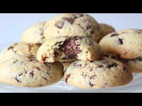 recette-cookies-ultra-moelleux-aux-pépites-de-chocolat-au-lait