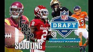 Football Gameplan's 2020 NFL Draft Prospect Rankings: (WR) Flankers